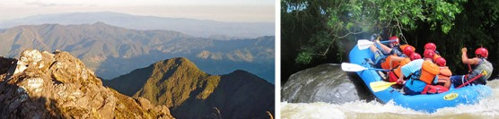 """24-Hour: """"Boquete Challenge"""" Volcano hike and Whitewater Rafting"""