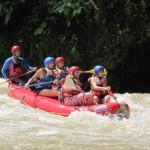 whitewater rafting, panama, boquete, chiriqui viejo river