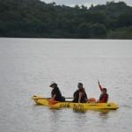 Sea kayaking, panama, boca chica, boca brava, boquete