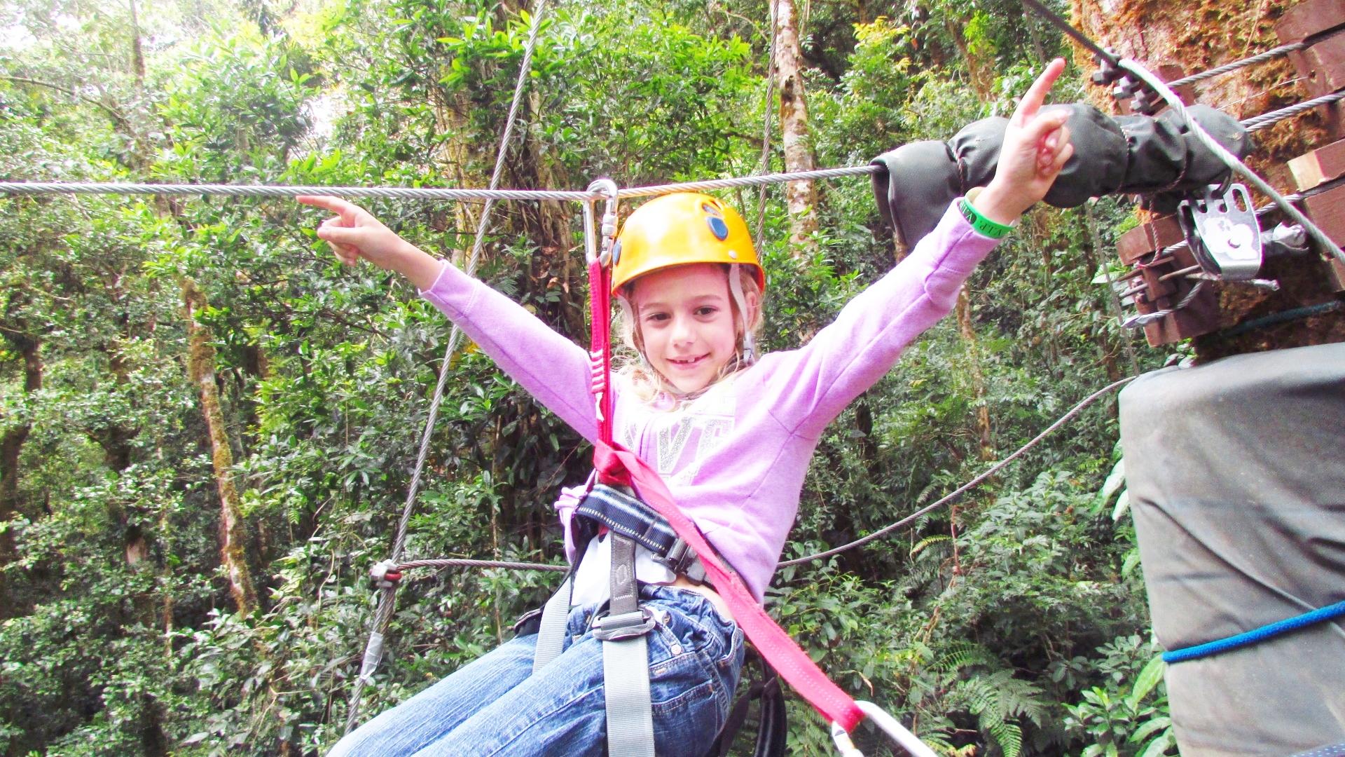 Zip Line Harness >> Canopy Zip Line Boquete Panama