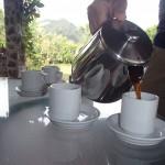 Coffee tasting, cupping, boquete, panama
