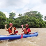 whitewater kayaking, boquete, panama