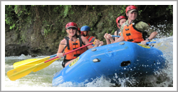 whitewater rafting, boquete, panama, white water, river rafting