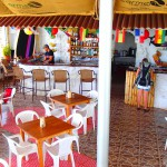 Boca Brava hotel, boca chica, golfo de chiriqui national marine park, panama, hotel lobby restaurant