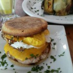Mike's GLobal grill, Boquete, Panama, breakfast sandwich
