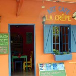 The Art Cafe La Crepe, Boquete, Panama, Cafe