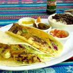 Big daddy's grill, boquete, panama, fish tacos,