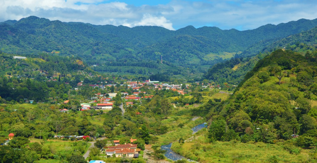 Boquete panama, panoramic, views of boquete valley, panama