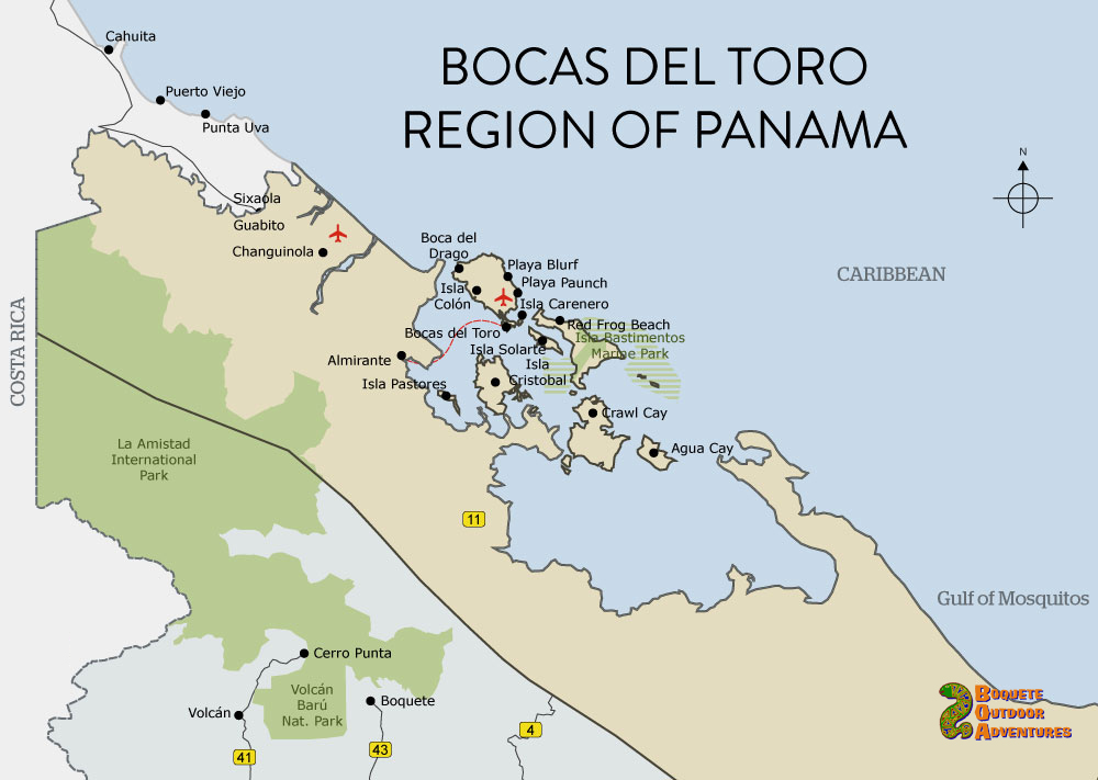 Maps of Panama