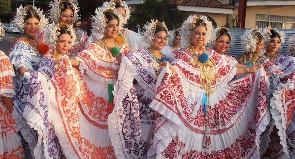 Panama Dress Pollera, panama traditional clothes