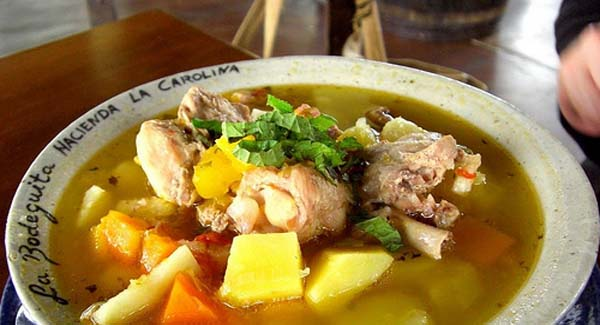 Panama Food Sancocho soup